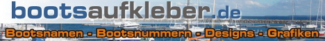 33 Bootsaufkleber.de - Ihr Aufklebershop für Boote!